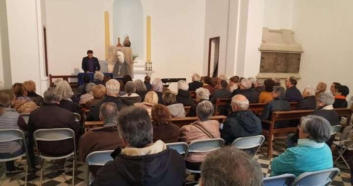 Fotografia de l'acte organitzat a Vilassar de Mar per l'any Almera